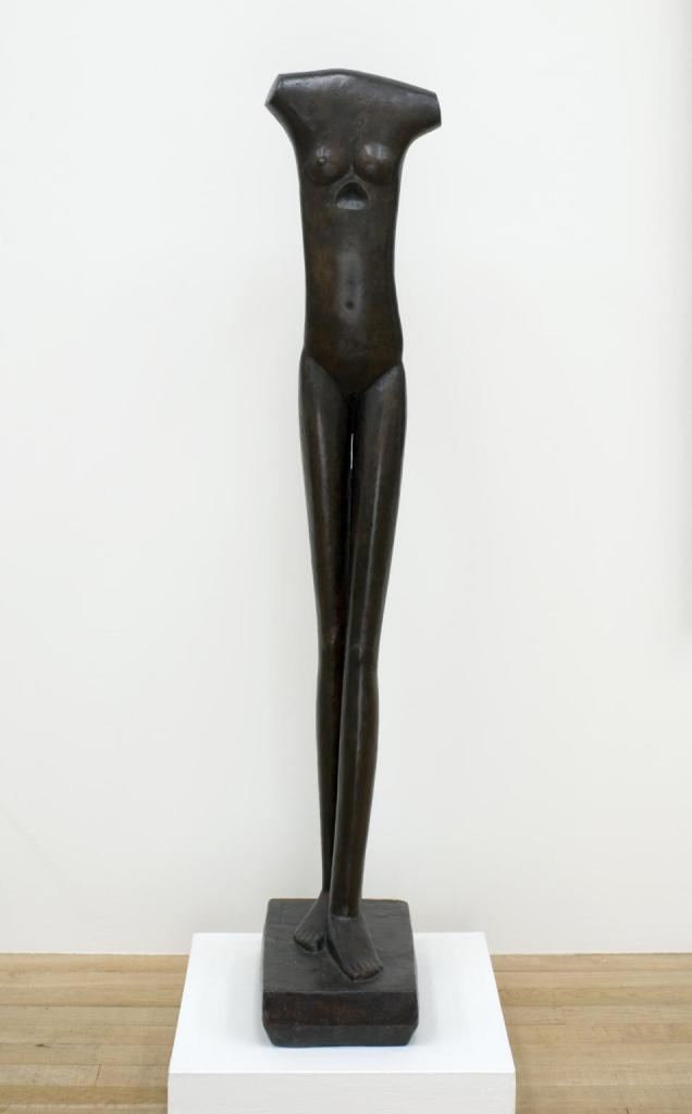 Walking Woman I 1932-3-1936, cast 1966 by Alberto Giacometti 1901-1966