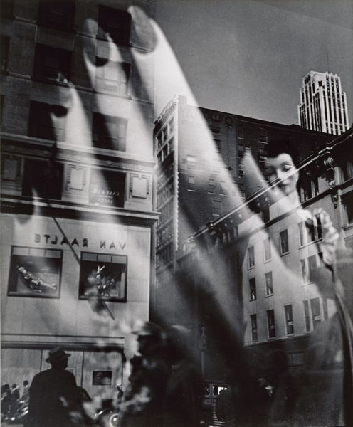 Lisette Model, Reflections, New York City, 1939-45