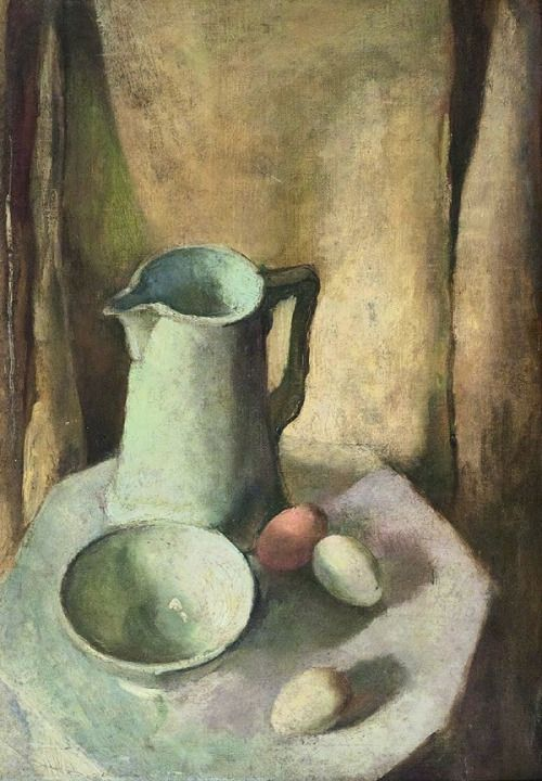 Amrita Sher-Gil, Still Life with Eggs