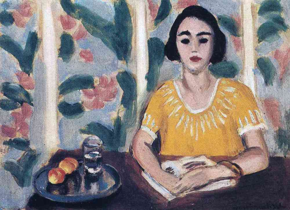 woman-reading-with-peaches-1923